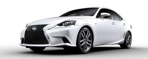 Noul Lexus IS iti arata locurile libere din parcare