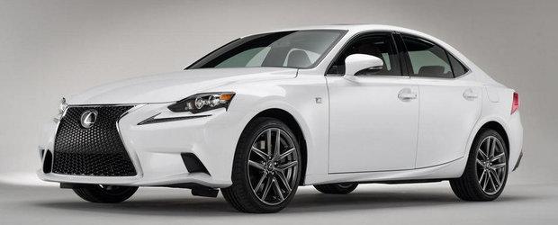 Noul Lexus IS - Scurta analiza asupra designului
