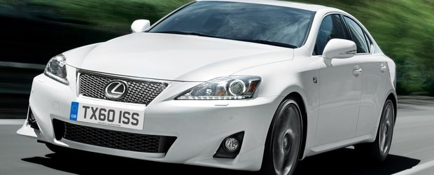 Noul Lexus IS se va bucura de un design revolutionar
