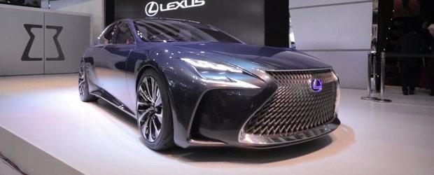 Noul Lexus LF-FC ne ofera promisiunea unor masini atragatoare si inteligente