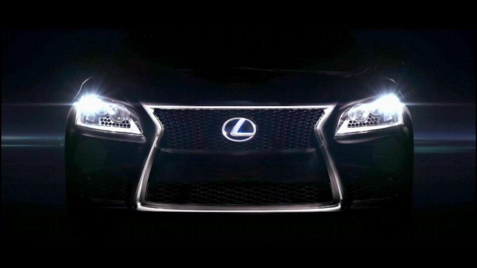 Noul Lexus LS vine pe 30 iulie