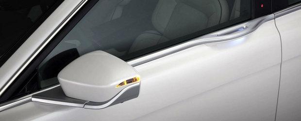 Noul Lincoln Continental vine cu 400 CP si... un sistem unic de deschidere a usilor
