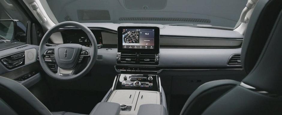 Noul Lincoln Navigator ne arata tot ce are mai bun de oferit. GALERIE VIDEO