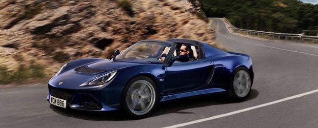 Noul Lotus Exige S Roadster promite 350 CP, atinge suta in doar 4.0 secunde!
