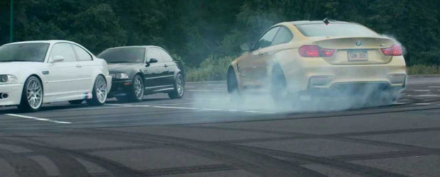 Noul M4 Coupe iese la joaca printre 52 de BMW-uri M si 11.566 CP