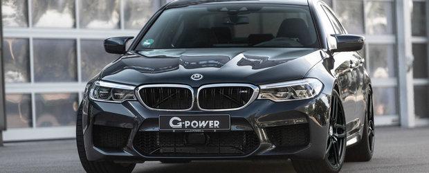 Noul M5 de la G-Power e o masina a exceselor. Berlina bavareza ofera acum 800 CP si 950 Nm