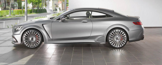 Noul Mansory S63 AMG Coupe e definitia excesului in tuning
