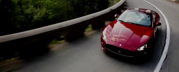 Noul Maserati GranCabrio Sport livreaza o portie serioasa de emotii, plus un sunet maiestuos
