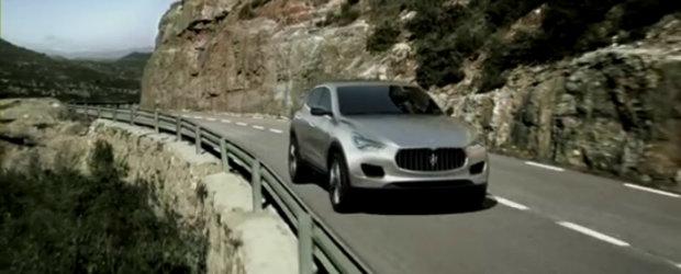Noul Maserati Kubang isi face aparitia in primul video oficial
