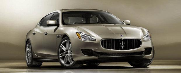 Noul Maserati Quattroporte, dezvaluit oficial