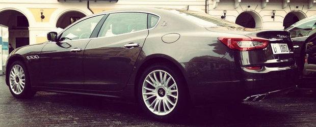 Noul Maserati Quattroporte - Noi detalii ies la iveala
