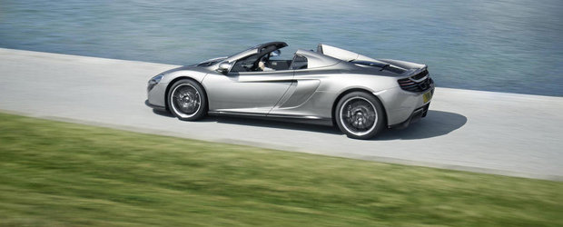 Noul McLaren 650S Spider primeste o editie speciala, semnata MSO