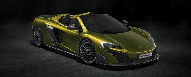 Noul McLaren 675 LT Spider soseste la timp pentru... lista cu dorinte de Craciun