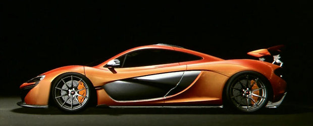 Noul McLaren P1 pare gata de actiune!