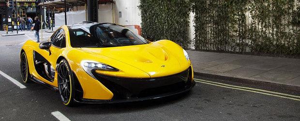 Noul McLaren P1, surprins pe strazile din Londra!
