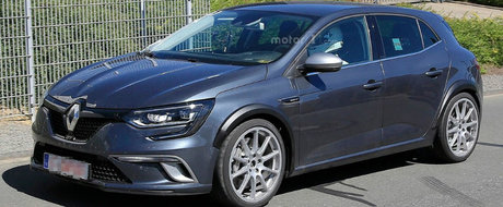 Noul Megane RS va fi o masina pentru pasionati. Renault pariaza pe transmisie manuala si directie integrala