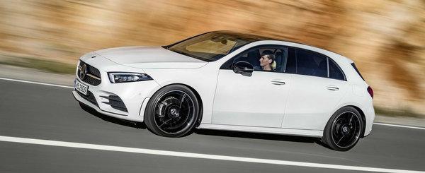 Noul Mercedes A180 d: masina germana cu motor diesel de DACIE sare de 31.000 de euro