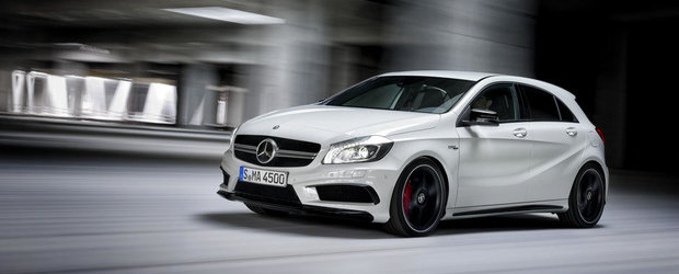 Noul Mercedes A45 AMG, disponibil in Romania de la 50.716 euro