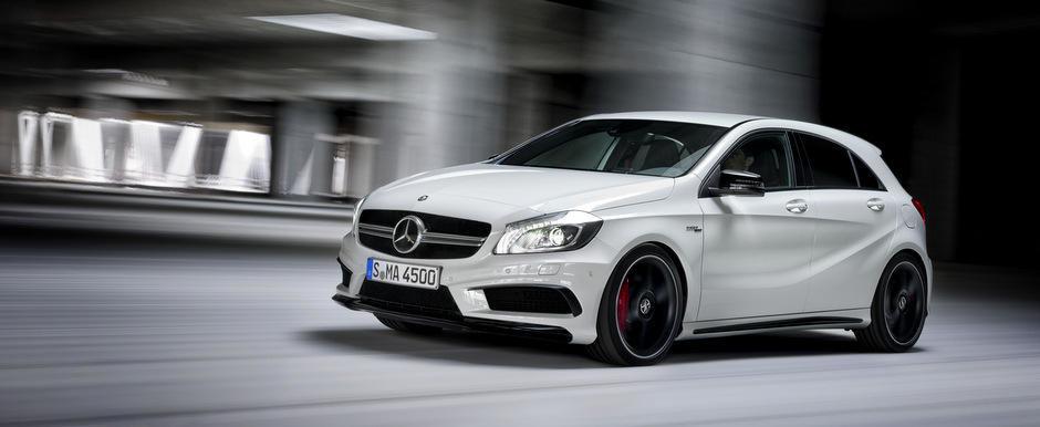 Noul Mercedes A45 AMG, disponibil in Romania de la 50.716 euro