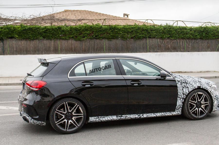 Noul Mercedes A45 AMG - Poze spion