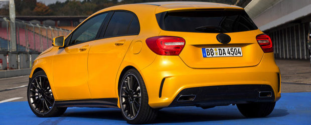 Noul Mercedes A45 AMG va avea 354 cai putere