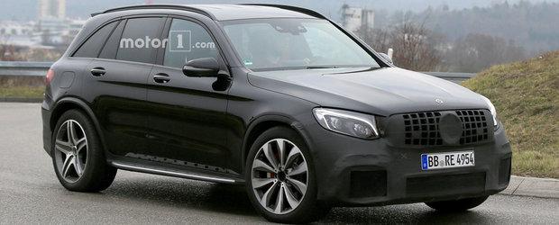 Noul Mercedes-AMG GLC 63 se prezinta ca un rival pentru BMW-ul X3 M