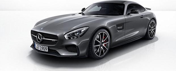 Noul Mercedes AMG GT S Edition 1 propune un eleron fix, plus alte bunatati