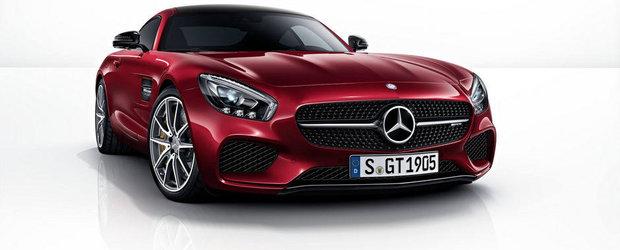 Noul Mercedes AMG GT si cele opt culori ale sale: Care este alegerea ta?
