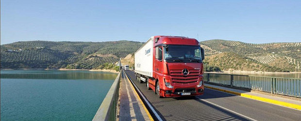 Noul Mercedes-Benz Actros a fost votat 'Truck Of The Year 2012'