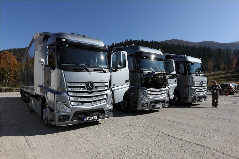 Noul Mercedes-Benz Actros, lansat oficial in Romania