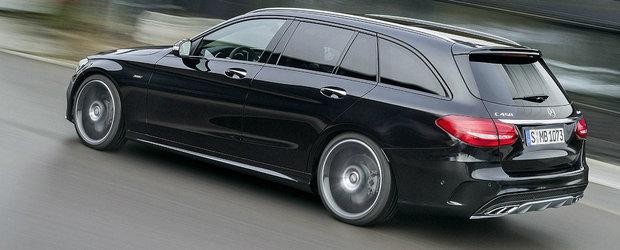 Noul Mercedes-Benz C450 AMG Sport vine la Detroit cu 362 cp