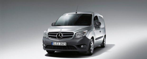 Noul Mercedes-Benz Citan: un autovehicul comercial eficient pentru oras