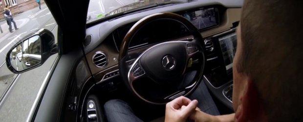 Noul Mercedes-Benz S Class poate merge singur 100 de kilometri