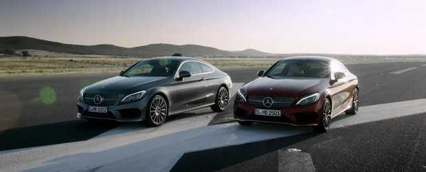 Noul Mercedes C-Class Coupe arata sic in primul sau clip video