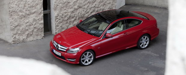 Noul Mercedes C-Class Coupe reprezinta expresia perfecta a unui coupe