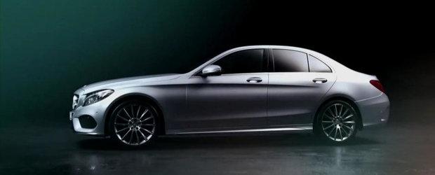 Noul Mercedes C-Class ne dezvaluie toate secretele sale estetice
