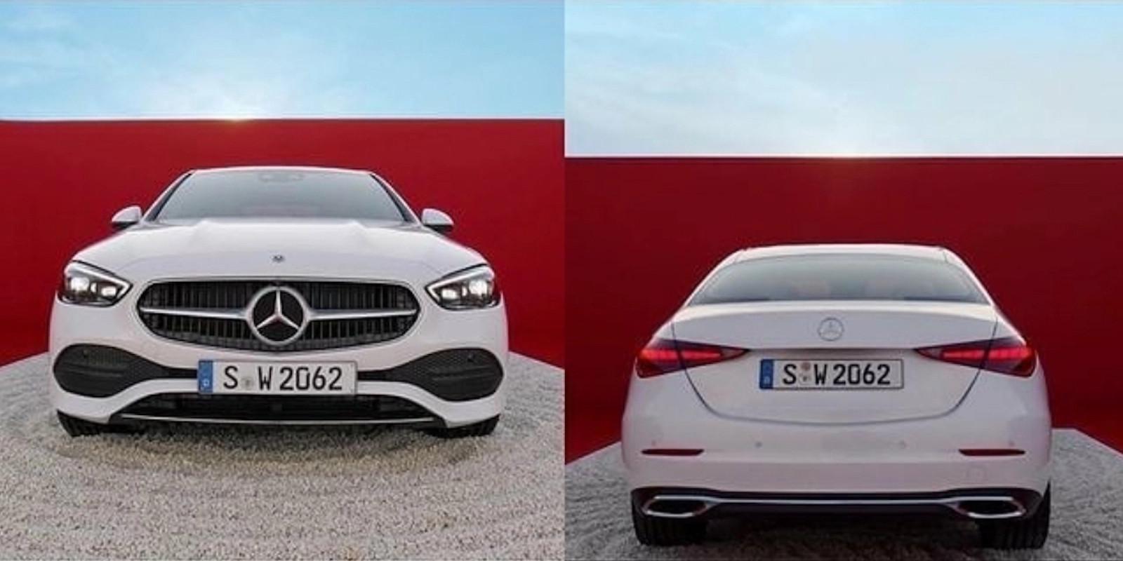 Noul Mercedes C-Class - Primele poze - Noul Mercedes C-Class - Primele poze