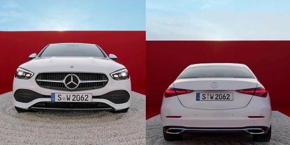 Noul Mercedes C-Class - Primele poze