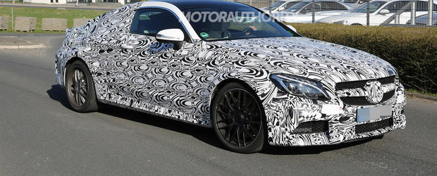 Noul Mercedes C63 AMG Coupe iese in teste pe strazile Germaniei