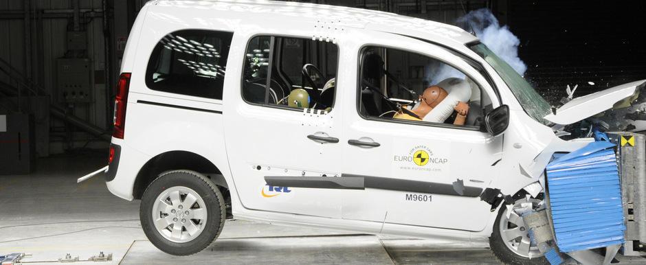 Noul Mercedes Citan dezamageste la testele Euro NCAP