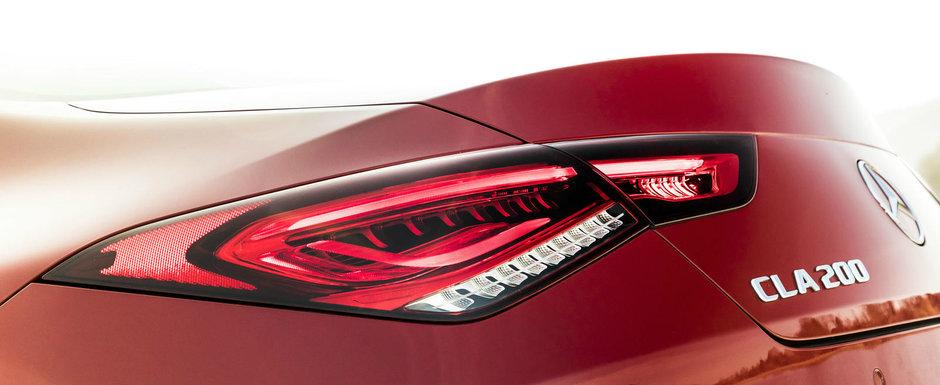 Noul Mercedes CLA e cel mai sexy coupe in patru usi care nu costa o avere. FOTO ca sa te convingi si singur