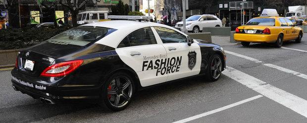 Noul Mercedes CLS 63 AMG este masina de politie a modei!