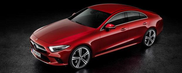 Noul Mercedes CLS, GALERIE FOTO completa. POZE MULTE cu masina germana ca sa vezi cum arata la exterior si in interior