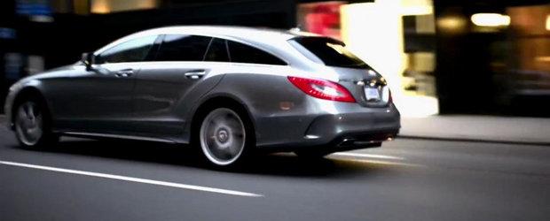 Noul Mercedes CLS isi face aparitia in primul sau promo oficial