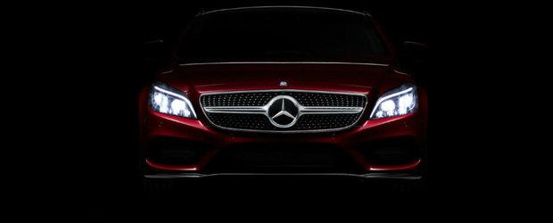Noul Mercedes CLS ne arata farurile sale MULTIBEAM LED