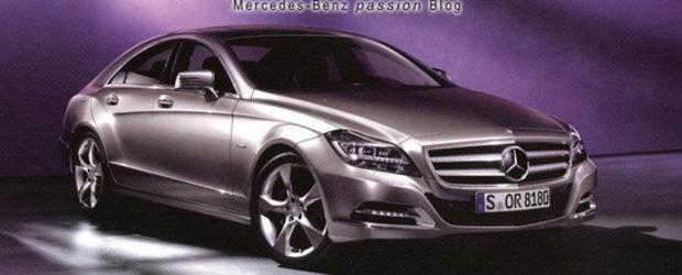 Noul Mercedes CLS - Primele poze oficiale!