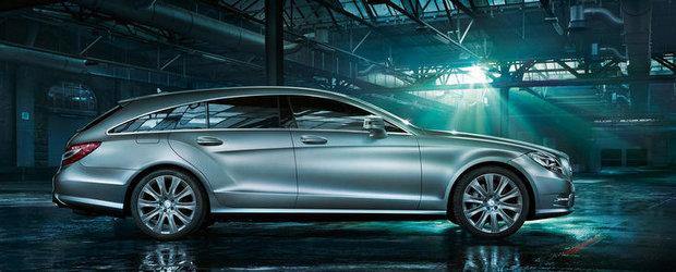 Noul Mercedes CLS Shooting Brake poate fi al tau pentru 64.356 euro. Cel putin!
