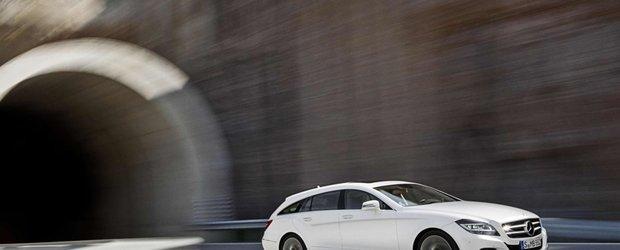 Noul Mercedes CLS Shooting Brake porneste de la 49.360 lire sterline