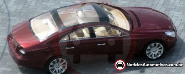 Noul Mercedes CLS surprins complet necamuflat!