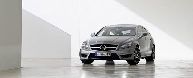 Noul Mercedes CLS63 AMG Shooting Brake - Oficial si gata de debut!